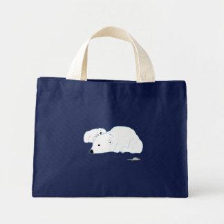 bi-polar mini tote bag