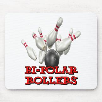 Bi-Polar Rollers Mouse Pad