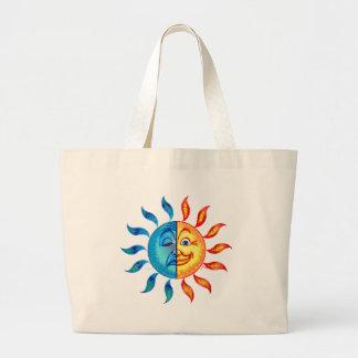 Bi Polar Solar Jumbo Tote Bag
