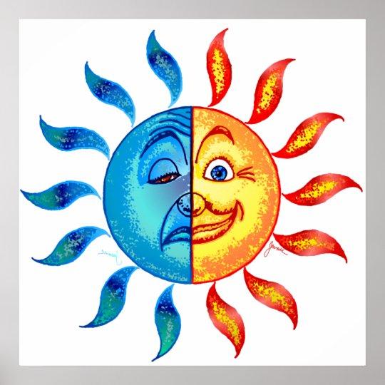 Bi Polar Solar Poster
