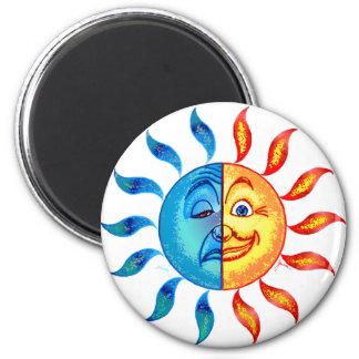 Bi Polar Solar Refrigerator Magnet