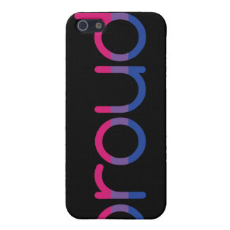 "Bi Pride Flag iPhone 4/4S case (""Proud"")"