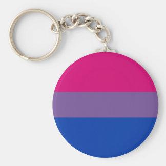 Bi Pride Flag Keychain (Classic)
