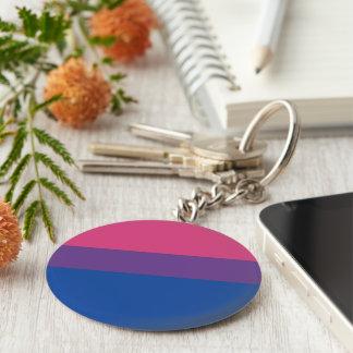 bi pride key ring