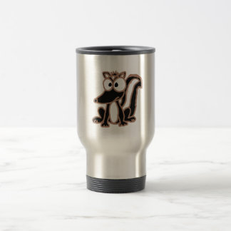 BI- Silly Skunk Cartoon Travel Mug