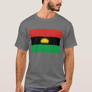 Biafra t shirts shirt designs zazzle uk biafra flag 1967 1970 t shirt altavistaventures Images