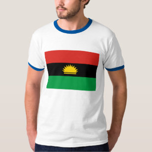 Biafra gifts gift ideas zazzle uk biafra flag 1967 1970 t shirt thecheapjerseys Images