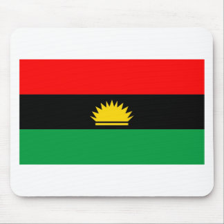 Biafra republic minority people ethnic flag mouse mat