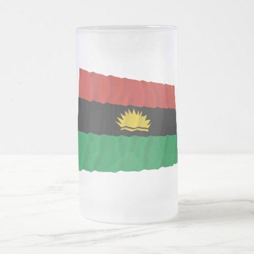 Biafra Waving Flag (1967-1970) Coffee Mug