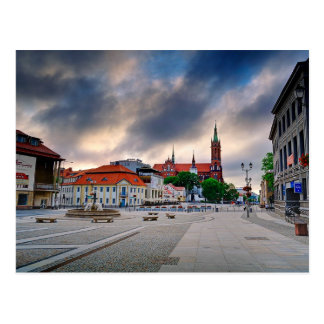 Bialystok Poland Postcard