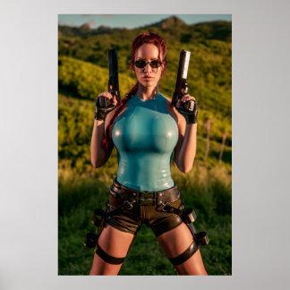 Bianca Beauchamp Latex Cosplay Poster