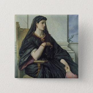 Bianca Capello, 1864/68 15 Cm Square Badge