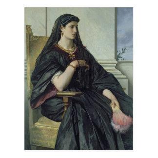 Bianca Capello, 1864/68 Postcard