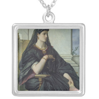 Bianca Capello, 1864/68 Silver Plated Necklace