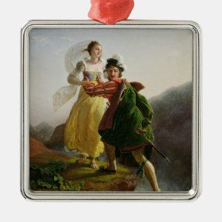 Bianca Cappello Fleeing Christmas Ornament