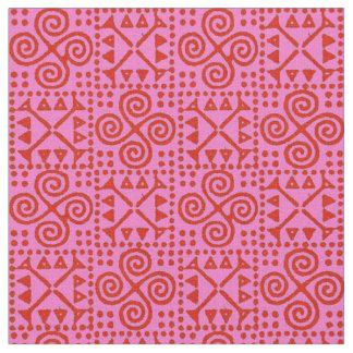 Bianca Grande Red and Fuschia Fabric