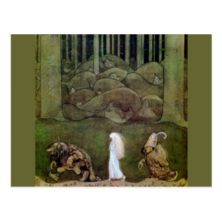 Bianca Marie and the Forest Trolls Postcard