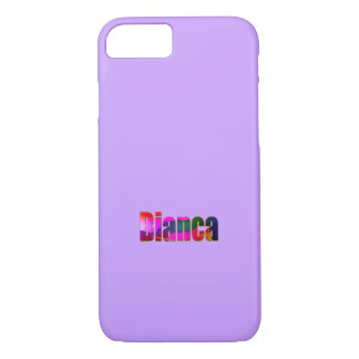 Bianca Solid Purple iPhone cover
