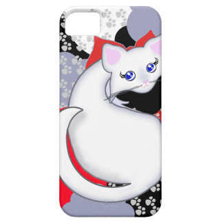 Bianca Toon Kitty Curves Case-Mate Case iPhone 5 Covers