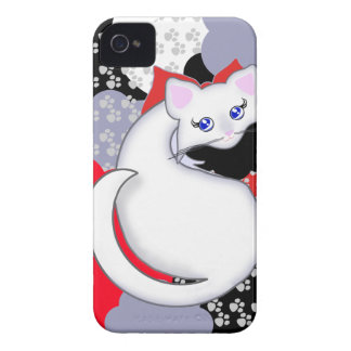 Bianca Toon Kitty Curves Case-Mate Case Case-Mate iPhone 4 Case