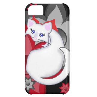 Bianca Toon Kitty Petal Flowers Case iPhone 5C Case