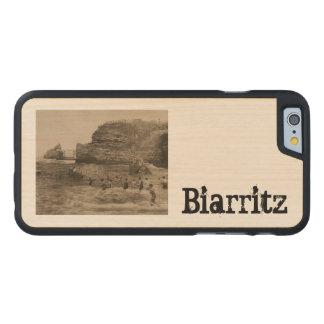 BIARRITZ - Rocher de la Virge et Bains du port Carved® Maple iPhone 6 Slim Case