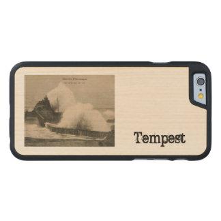 Biarritz Ruse de Marée Tempest 1920 Carved® Maple iPhone 6 Case