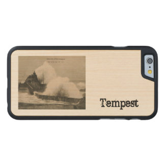 Biarritz Ruse de Marée Tempest 1920 Carved® Maple iPhone 6 Slim Case