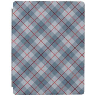 Bias Plaid Blue-Red Stripe iPad Cover