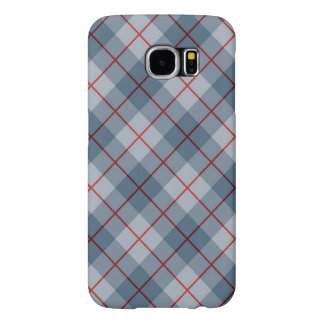 Bias Plaid Blue-Red Stripe Samsung Galaxy S6 Cases
