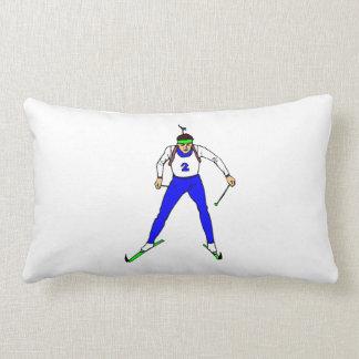 Biathlon Throw Pillows