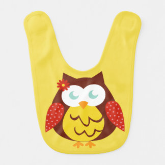 Bib Yellow Owl