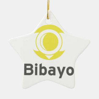 Bibayo Logo Ceramic Star Decoration