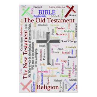 BIBLE and Religion  Related Text Poster