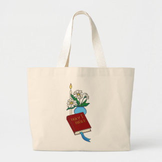 Bible Candle Daisies Bags