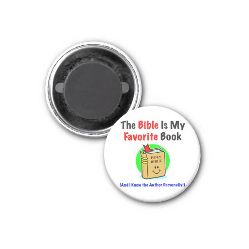 Bible Favorite Round Magnet Magnets