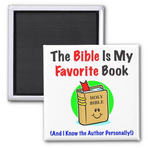 Bible Favorite Square Magnet Fridge Magnet