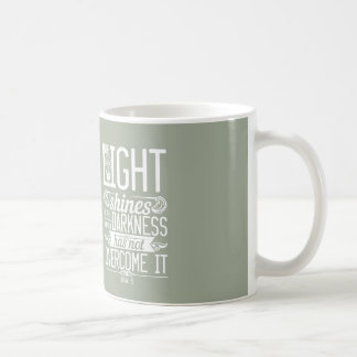 Bible fresh The light shines Coffee Mug