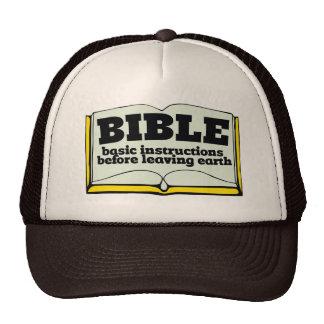 Bible Mesh Hats