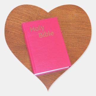 Bible Heart Sticker
