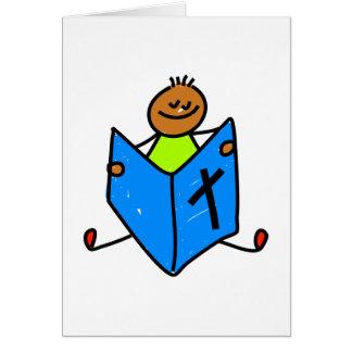 Bible Kid Greeting Card