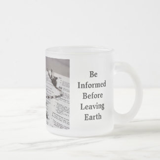 BIBLE FROSTED GLASS MUG