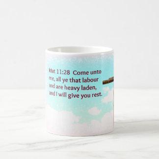 Bible passage coffee mug
