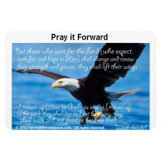 Bible Quotes Inspirational Vinyl Magnet