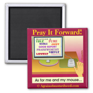 Bible Quotes Inspirational Refrigerator Magnet