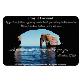 Bible Quotes Inspirational Flexible Magnet