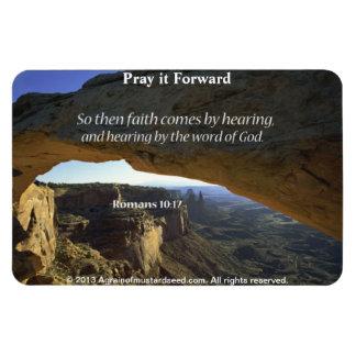 Bible Quotes Inspirational Rectangular Magnets