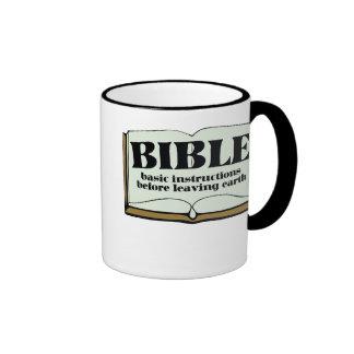 BIBLE RINGER MUG
