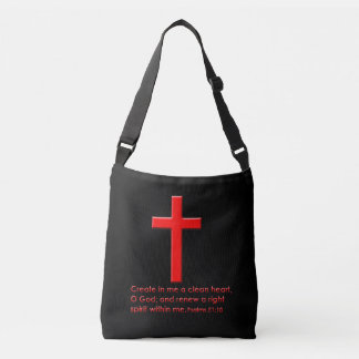 Bible scripture crossbody bag
