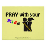 Bible Scripture prayers Poster